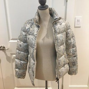 """BNWT Moncler """"Sariette"""" embroidered puffer jacket"""
